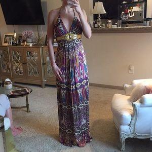 Purple sky brand maxi dress